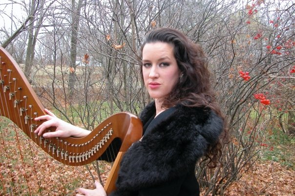 christmas harpist pittsburgh kate stapleton