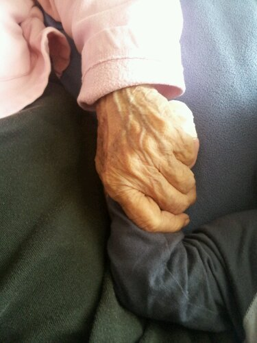 abuelita's hands