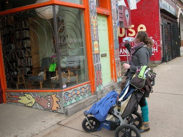 jogging stroller indy bookshop pittsburgh urban