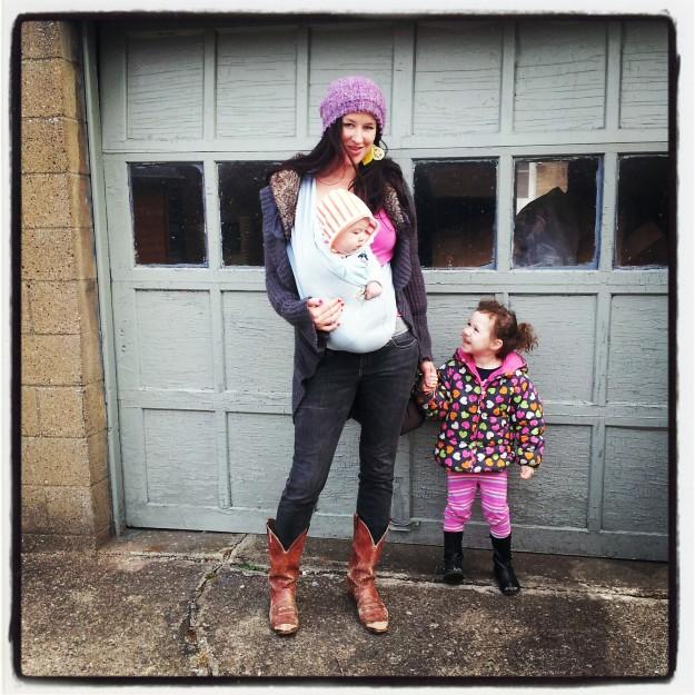 babywearing spring sling