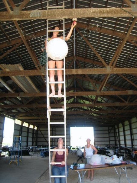 pole shed wedding