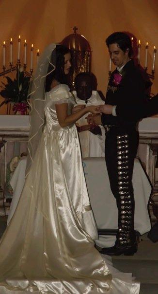 vintage gown mariachi wedding suit