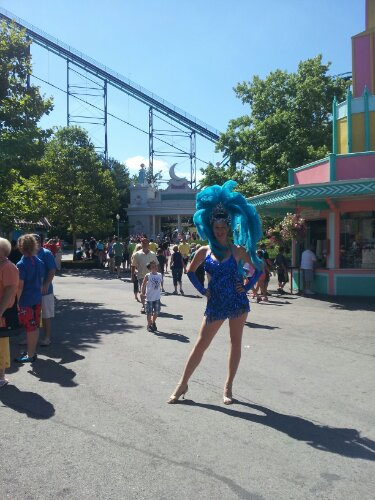 kennywood samba dancer