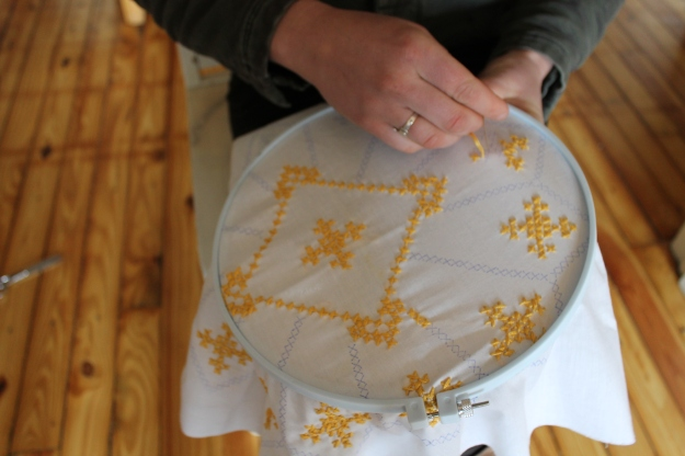 embroidery hoop craft